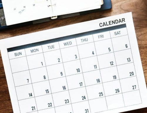 Calendrier Piste Saison Estivale 2019